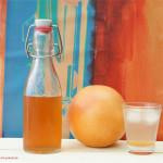 Grapefruitsirup ganz einfach selber machen