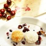 Frieda und John – Reisklöße mit Zimt-Semmelbröseln und Kokosflocken