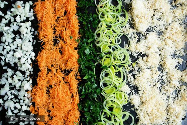 Abbildung 1 – So kommt das Gemüse in den Herd