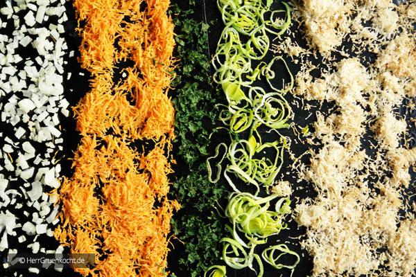 Abbildung 2 – das Gemüse nach 30 Minuten