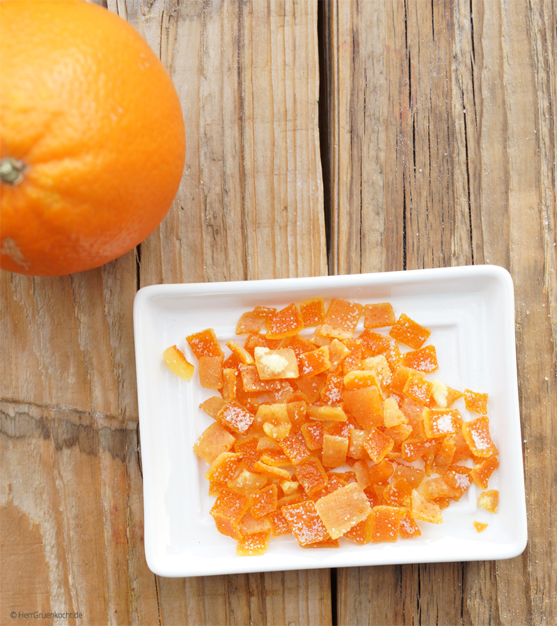 Orangeat ganz einfach selber machen
