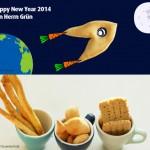 Salzgebäck für Silvester: Orangen-Anis Grissini, Fischlis und Hafercracker