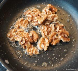 Karamellisierte Walnüsse ganz einfach selber machen