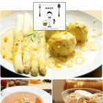 Das vegetarische Ostermenü von Herrn Grün