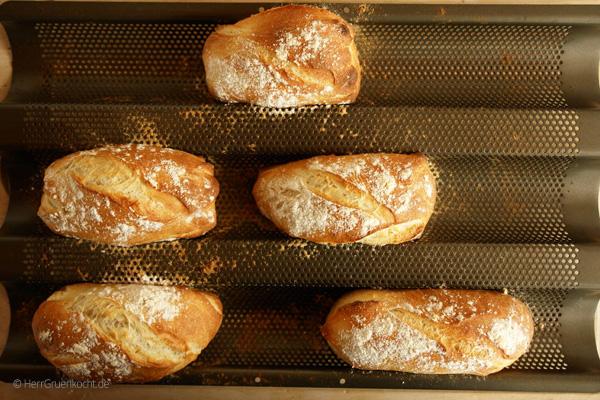 Italienische Brötchen Einfach Selber Backen Herr Grün Kocht