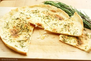 Rosmarin Pizza