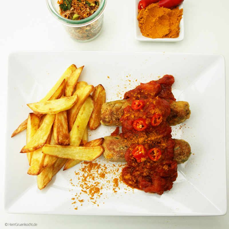 vegetarische Currywurst