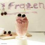 Kirsch Frozen Yogurt ohne Eismaschine selber machen