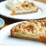 Aprikosen-Käse-Tarte mit Streuseln