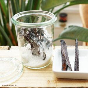 Vanillezucker ganz einfach selber machen