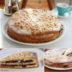 Nicciololo – Hefe-Nuss-Kuchen mit Streuseln