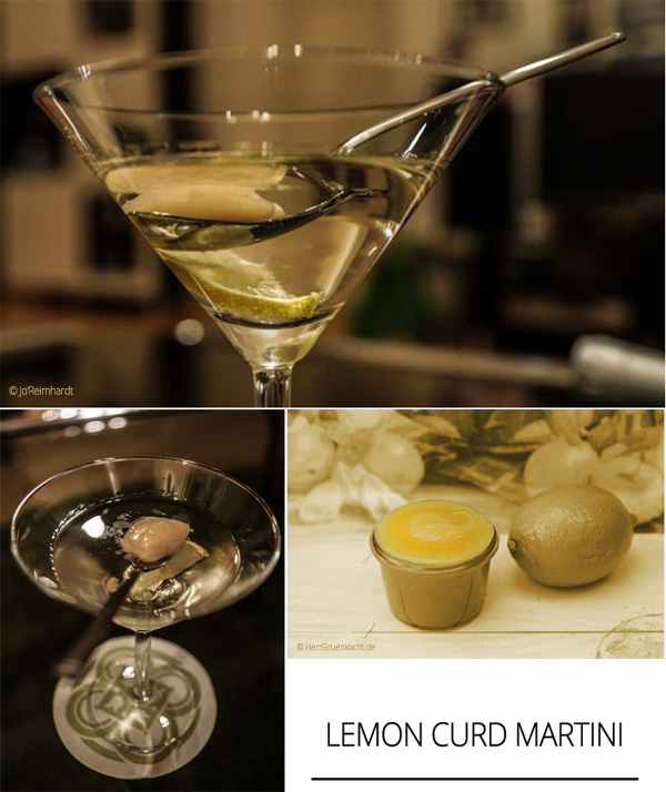 Lemon Curd Martini