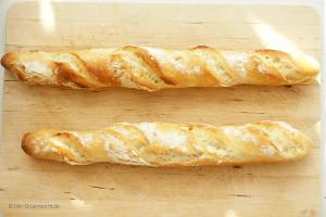 Französisches Baguette einfach selber backen