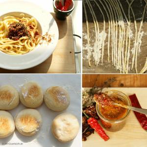 Spaghetti ohne Nudelmaschine