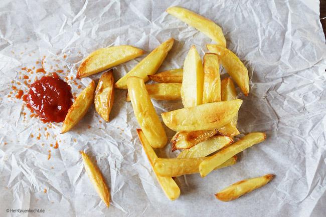 Backofen Pommes Frites ganz einfach