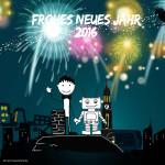 Ein Frohes Neues Jahr 2016 aus dem Herr Grün Kochlabor