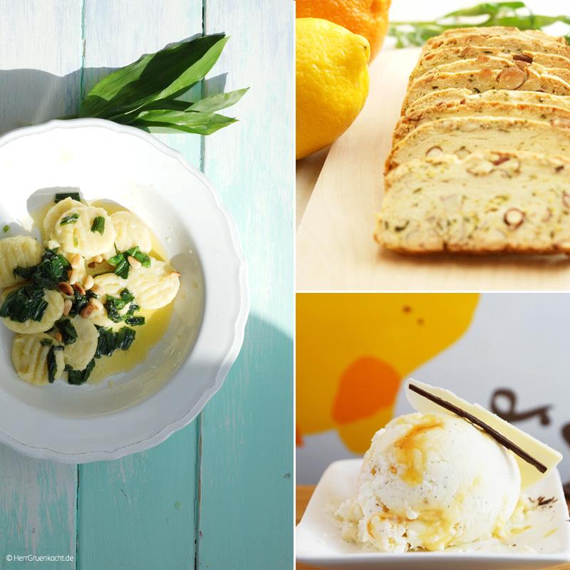 Das vegetarische Ostermenü 2016 von Herrn Grün