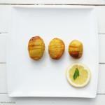 Fächerkartoffeln ganz einfach im Backofen zubereiten