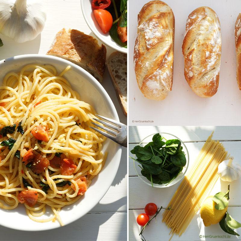 Spaghetti vegan vegetarisch