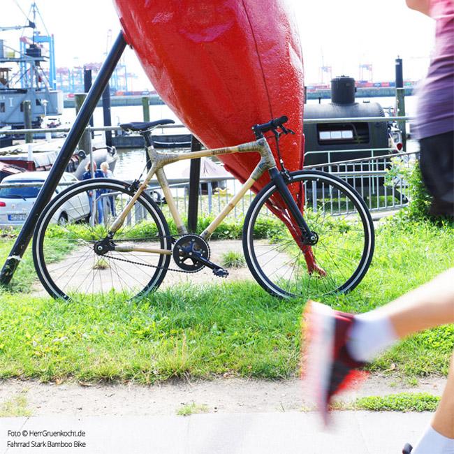 Bamboo Bike Övelgönne Hafen Hamburg