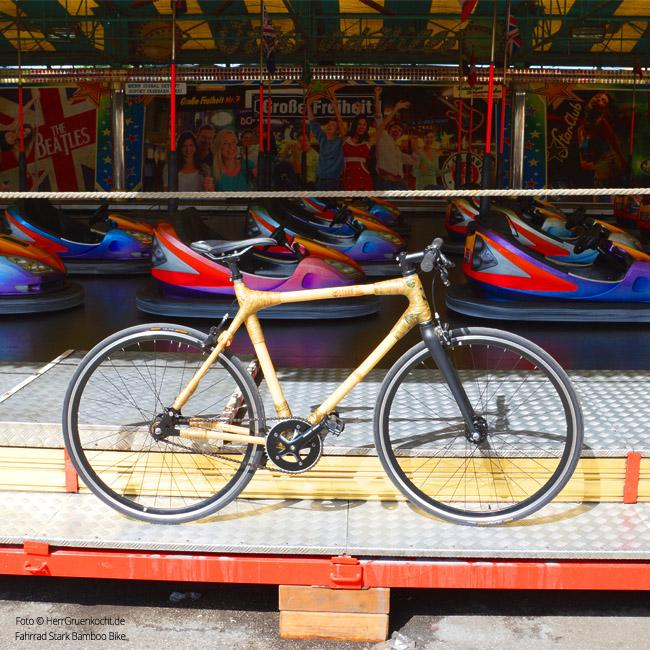 Bamboo Bike auf Hamburger Dom