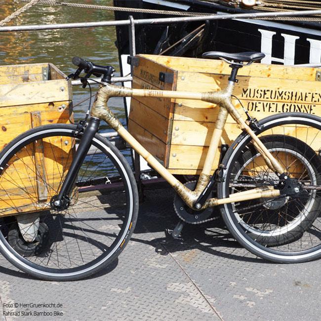 Bamboo Bike Museumshafen Övelgönne Hamburg