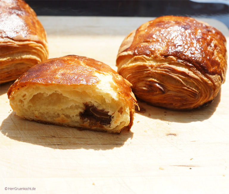 Pain au chocolat selber backen