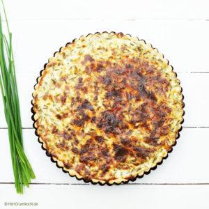 vegetarische Quiche