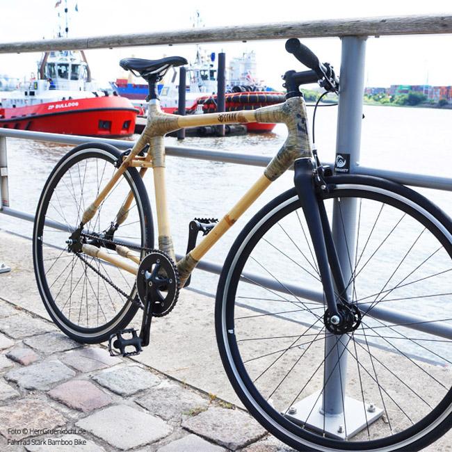 Bamboo Bike Schlepper Neumühlen Hamburg