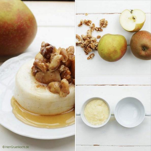 Vanille-Grießpudding
