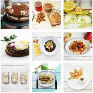 Herr Grün kocht bei Instagram, verschiedene Fotos