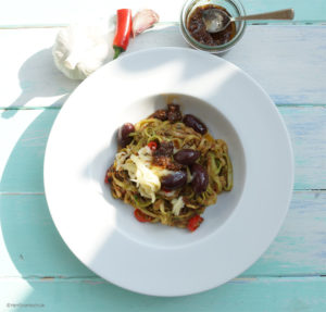 Zucchini-Spirelli