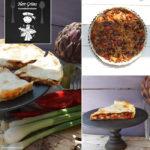 Mexikanische Tarte mit roten Bohnen, Paprika, roter Peperoni und einer speziellen Gewürzmischung