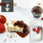 Gegrillter Schafskäse mit selbst gemachter Barbecue Sauce