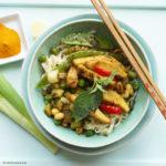 Mie-Nudeln mit Sauce Hangzhou