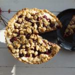Kirsch-Streuselkuchen mit Quark-Vanille-Pudding