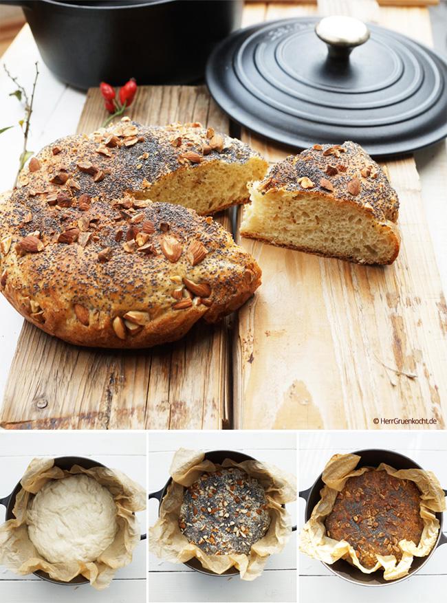 Italienisches Brot ganz einfach backen