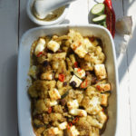 Orientalischer Blumenkohl-Zucchini-Auflauf nach Tante Mimi