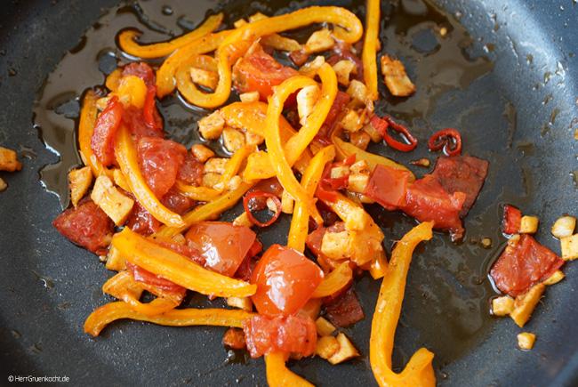 Asiatische Spaghetti