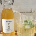 Der Herr Grün Gin-Sirup zum Selbermachen