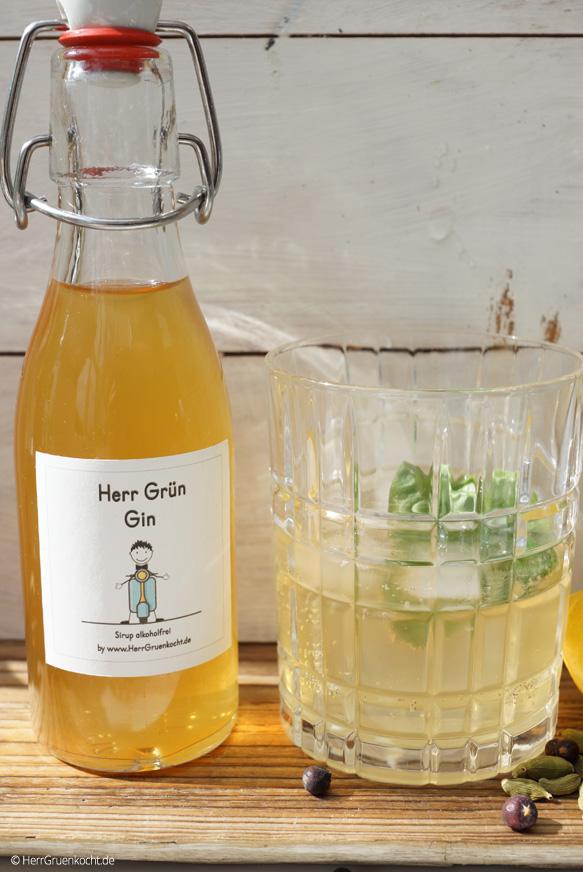 Gin Sirup ganz einfach selber machen