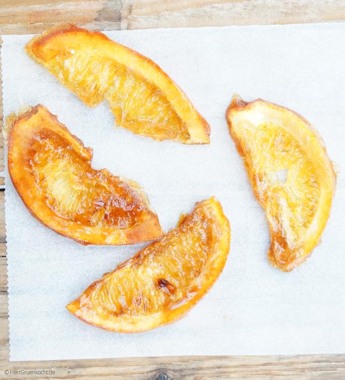 Kandierte Orangenscheiben ganz einfach selber machen
