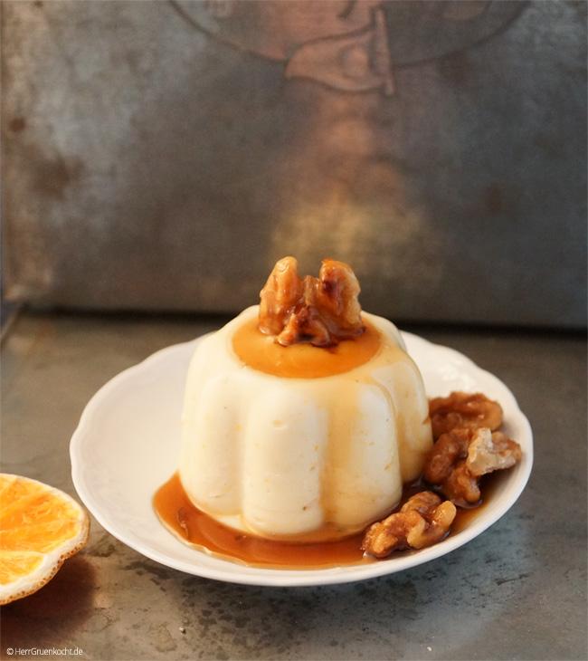 Orangen-Kardamom-Pudding ganz einfach selber machen