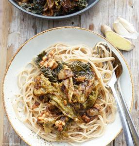 Spaghetti mit Wirsing
