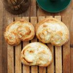 Herr Grüns Puddingschnecken – mit Dinkelmehl gebacken und natürlich mit Pudding
