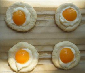 Aprikosen-Pudding-Teilchen