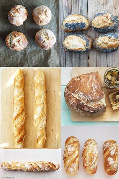 Brot und Brötchen von Herrn Grün