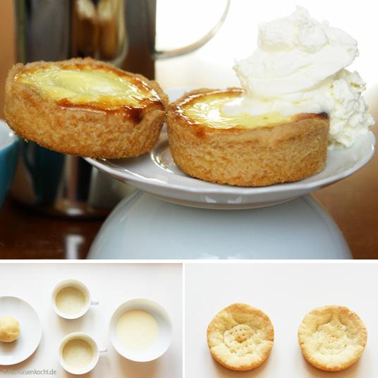 Minikaesekuchen ganz einfach in der Tasse backen