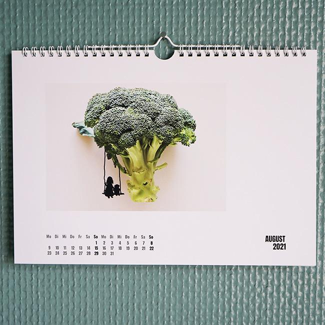 Der Herr Grün Wandkalender 2021