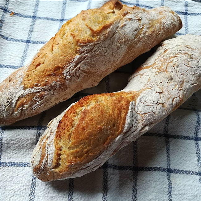 French Baguette - quick and easy